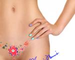 Temporary Vagina Tattoo With Taj Mahal Copy Design